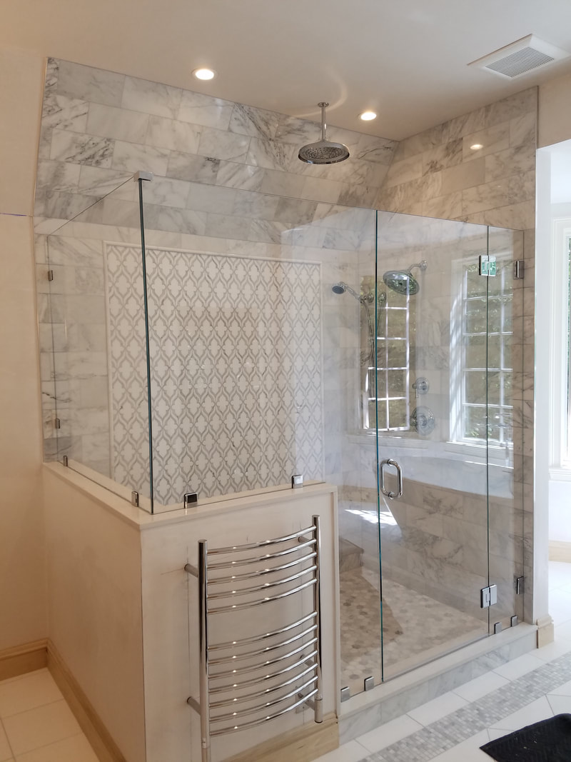 Notched Panels Allstate Glass Shower Amp Special Projects