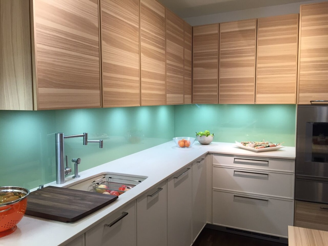 Coloured Glass Backsplash. Top Colored Glass Tile Backsplash With ...